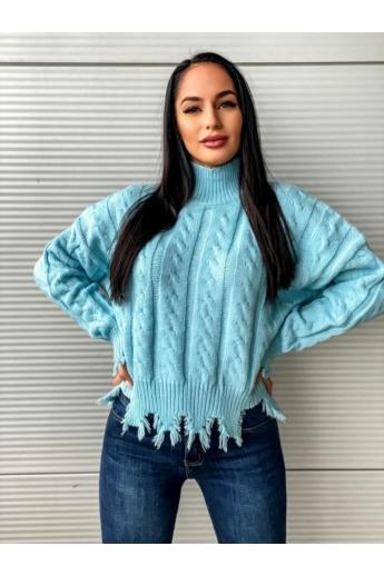 ITALY szaggatott kötött pulcsi