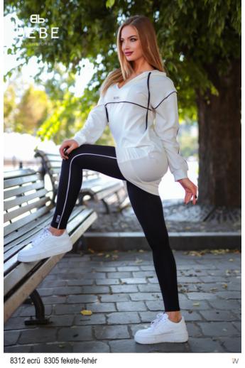 Bebe leggings fekete-fehér