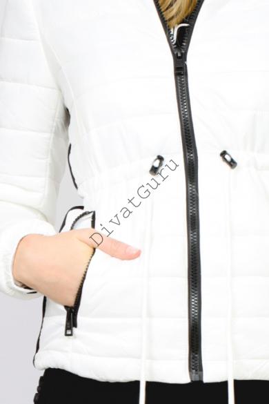 AMNESIA rövid derékban kötős kabát